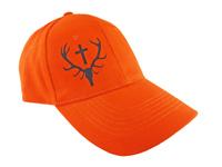 Pomarańczowa czapka dla myśliwych