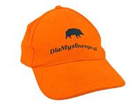 Myśliwska czapka z daszkiem - z nadrukiem
