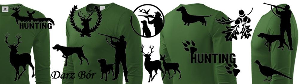 Koszulki z długim rękawem dla myśliwych - wszystkie wzory