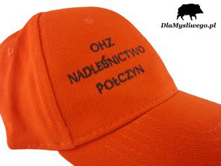 Haftowana czapka OHZ Połczyn