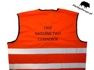 OHZ Nadleśnictwo Czarnobór - kamizelki