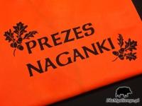 Kamizelka z nadrukiem odblaskowym Prezes Naganki