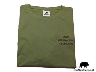 Haftowane koszulki myśliwskie