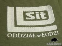 Haftowane koszulki SIT