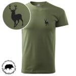 t-shirt-khaki-myśliwski-byk-1