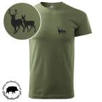 t-shirt-khaki-myśliwski-byk-z-łanią-1