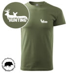 t-shirt-khaki-myśliwski-hunting-z-bykiem-łanią-biała-1