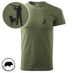t-shirt-khaki-myśliwski-myśliwy-z-labradorem-1