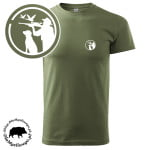 t-shirt-khaki-myśliwski-myśliwy-z-psem-biała-1