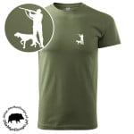 t-shirt-khaki-myśliwski-myśliwy-z-wyżłem-biały-1