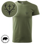 t-shirt-khaki-myśliwski-wieniec-1