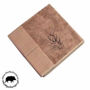 Myśliwski ręcznik bambusowy beżowy