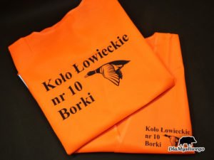 Kamizelka odblaskowa Koło Łowieckie nr 10 Borki