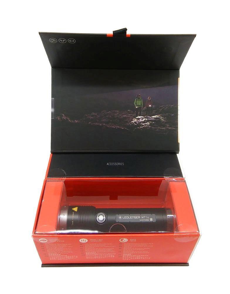 Ledlenser MT14 mocna latarka outdoorowa