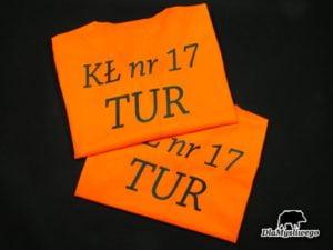 Kamizelka haft kł nr 17 Tur w Łodzi