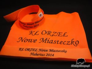 Kamizelka opaska haft kł orzeł Nowe Miasteczko