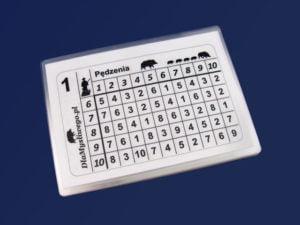 Kartki stanowiskowe białe do 15 myśliwych