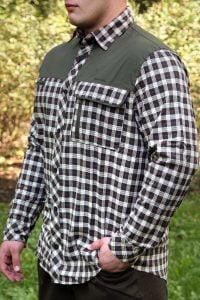 Koszula UNIVERS flanelowa patches 94127