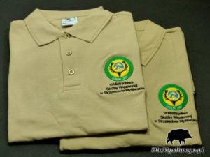 Koszulka myśliwego polo V mistrzostwa służby więziennej