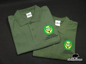 Koszulka polo haft V mistrzostwa służby więziennej