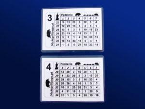 Myśliwskie kartki stanowiskowe 21 34 3