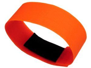 Pomarańczowa opaska gumka