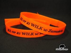 Opaska haft kł nr 21 wilk w Zamościu