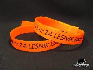Opaska pomarańczowa kł nr 24 leśnik Łódź