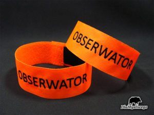 Opaska pomarańczowa obserwator