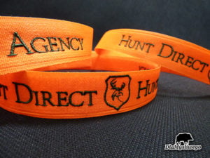 Opaska z haftem hunt direct agency