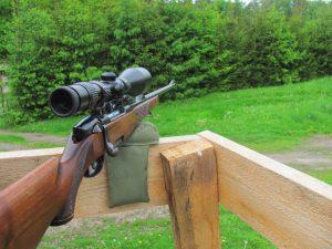 Podkładka pod broń na polowanie