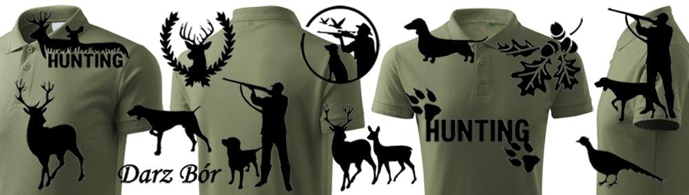 Wzory nadruków na koszulkę POLO