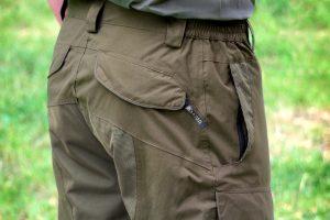 Spodnie UNIVERS Daino U-TEX 9200-352 kieszenie