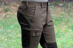 Spodnie UNIVERS Stretch 92111-357 kieszeń boczna