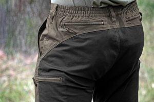 Spodnie UNIVERS Stretch 92111-357 kieszeń tylna