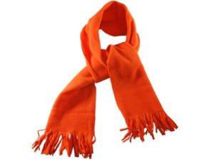 Gładki szalik pomarańczowy