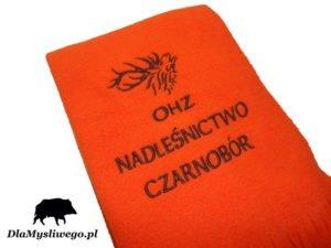 Szalik z haftem ohz nadleśnictwo Czarnobór