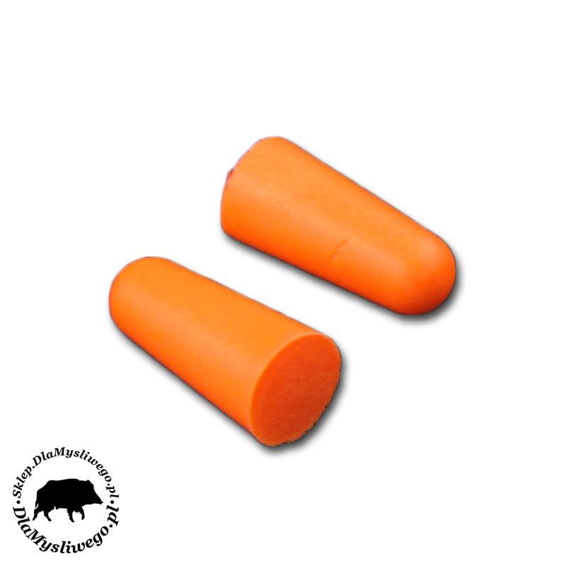 Zatyczki do uszu jednorazowe pomarańczowe